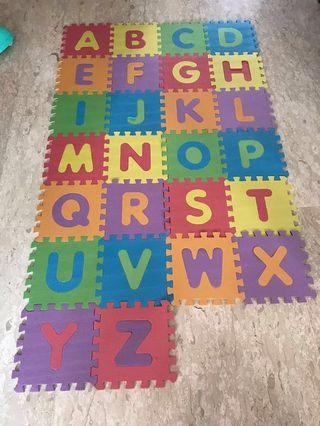 Alphabet Playmat #MRTJurongEast