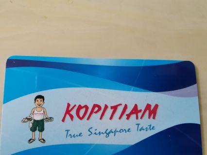 2 Kopitiam cards on sale each