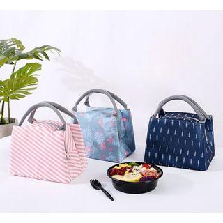🚚 S7 2605 Size: 20.5cm*15cm*16cm  Portable Canvas Lunch Bags Insulation Package