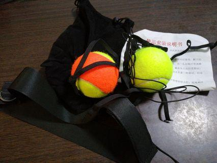 Boxing Tennis Ball with Headstrap + Mask