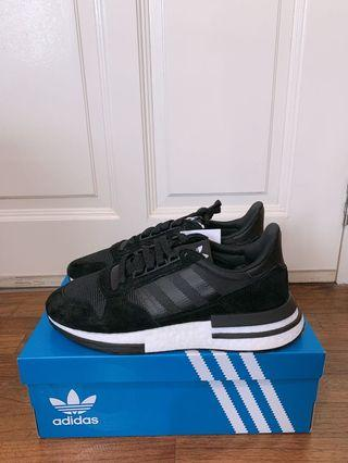 🚚 Adidas ZX500 RM Mens Sneakers Black White UK8 UK9 US8.5 US9 <Ready Stock>