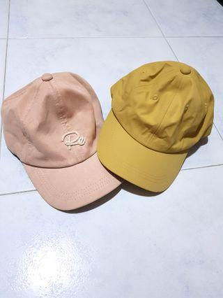 Caps - Set of 2