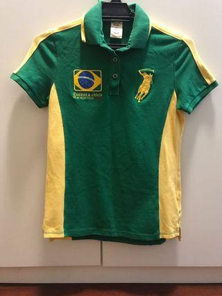 Authentic Polo Shirt - Brasil Edition ♥️