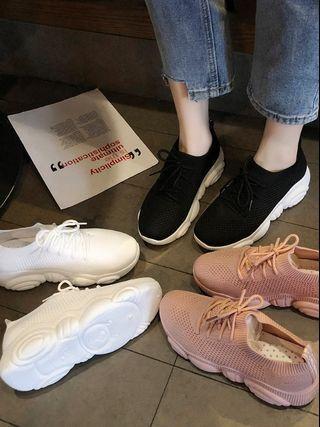 透氣襪子運動老爹鞋
