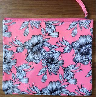Floral Travel toiletry pouch