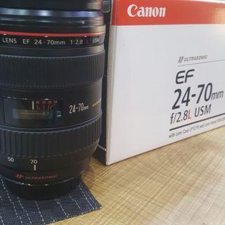 Lensa Canon 24-70mm  f:2.8