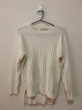 米色冷衫 beige sweater