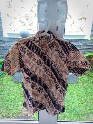 Kemeja Batik Pria Preloved