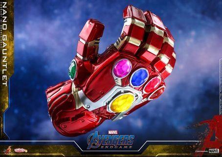 (小心次貨假貨呃訂) 納米手套 Marvel Avengers Endgame 復仇者聯盟 Hot Toys Cosbaby 無限 手套 全新 Nano gauntlet