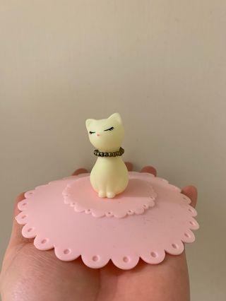 可愛貓貓🐱杯蓋(超大)(基本上大部分的杯都可以蓋到)