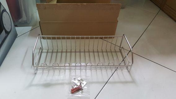 Stainless steel kitchen / toilet rack