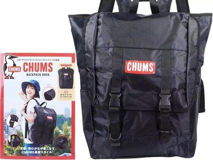 CHUMS BACKPACK BOOK 大容量 背包