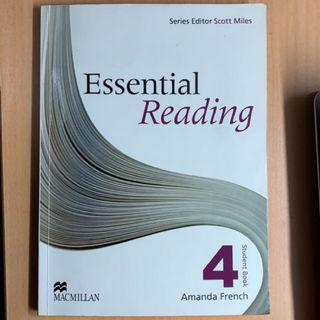 🚚 Essential Reading 4 + CD mp3 amanda french second 二手書