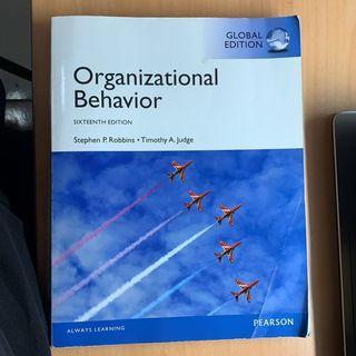 🚚 組織行為 原文 Organizational Behavior 16 16e sixteenth edition 二手