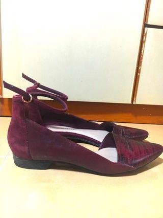 10 Crosby Derek Lam Lex shoes Burgundy red leather