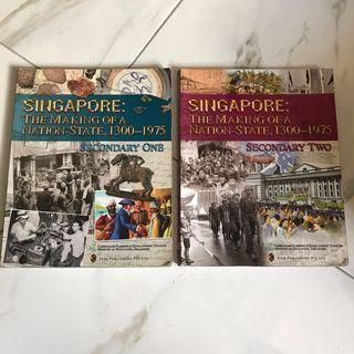 O Level Lower Secondary History Textbooks