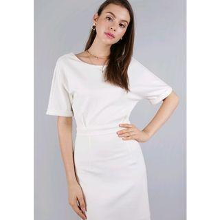 TTR Cornelia Cuff Sleeve Dress