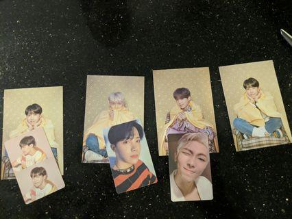 [WTT] BTS persona postcards and photocards