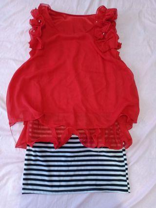 [ON SALE] Red mini dress