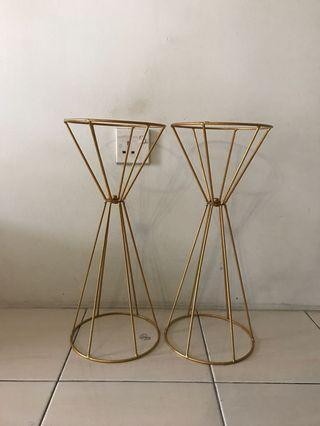 Metal flower stand - S size