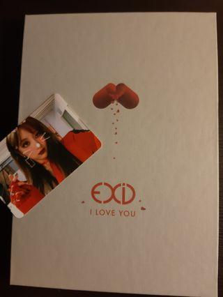 unsealed EXID I Love You single album