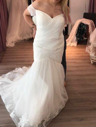Dentelle Bridal designer mermaid gown
