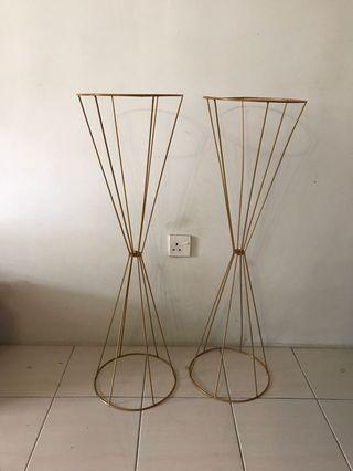 Metal flower stand - L size