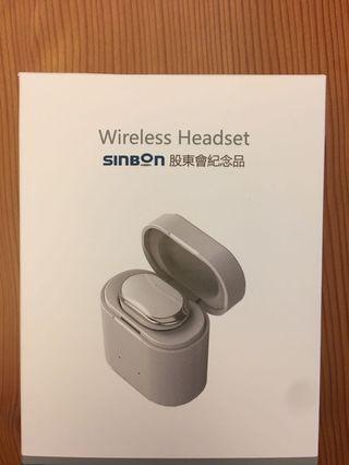 🚚 wireless headset 無線耳機 (通話、聽音樂)