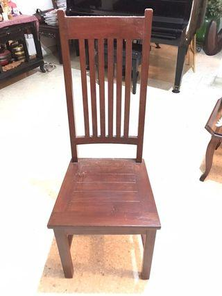 Solid Teak Dining Chairs (4 units available)