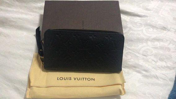 Authentic Louis Vuitton Wallet zippy wallet