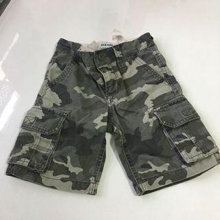 Preloved Old Navy Army Shorts Bermuda for boy 5 years up