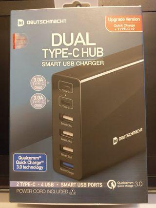 Deutschmacht USB Charger Hub DM-CHUB-A20B