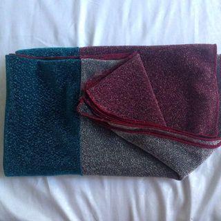Glitter shawl