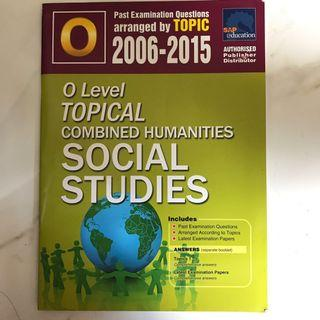 🚚 O Level Social Studies Topical Practice Questions 2006-2015