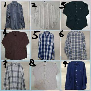 Assorted Men's Shirts from $8 to $20 (new and used included)