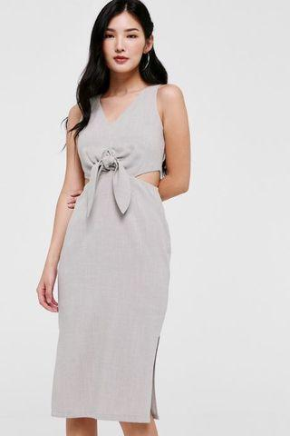 Pamela Cut Out Midi Dress