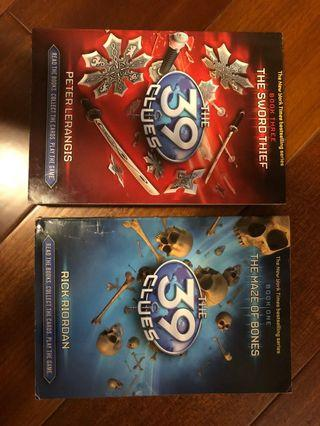 The 39 clues (book 1+3)