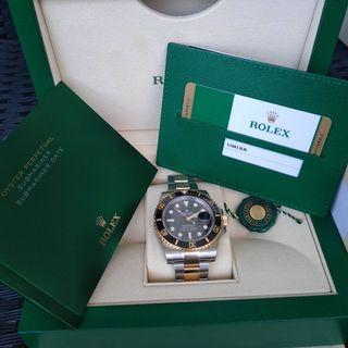 ROLEX Submariner 116613LN Brand New in Box [March 2019] with stickers