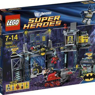 LEGO DC Comics 6860: Batman : The Batcave 樂高蝙蝠俠