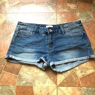 NET 牛仔短褲 單寧短褲 熱褲 牛仔褲 短褲 休閒短褲