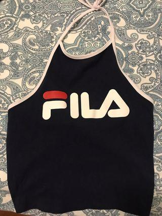 Fila halter top