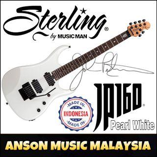 Sterling by Music Man JP160 John Petrucci Signature Electric Guitar, Pearl White(PWH)