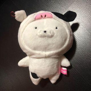 BNWT Line Creator Usamaru Rabbit in Cow Costume