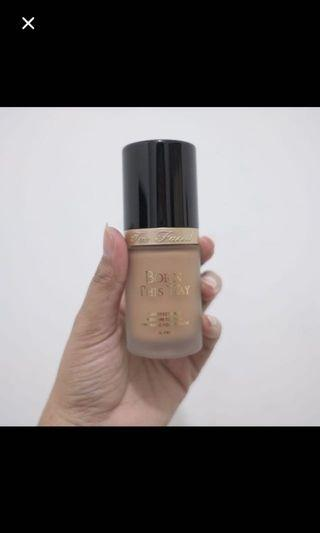 Foundation Too Faced Born this way