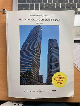 🚚 Fundamentals of corporate finance 8th edition mcdraw hill brealey/myers/marcus 財務管理課本