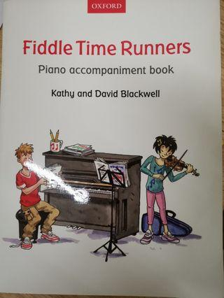 Fiddle Time Runners Piano Accomp. Book