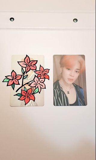 BTS MAP OF THE SOUL: PERSONA OFFICIAL Photocards [Jimin VER.]