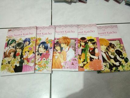 Komik Kaichou wa maid sama/Sweet Kaichou