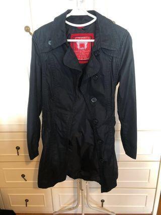 Esprit Black Trench Coat