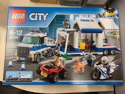 全新未開封 LEGO City POLICE: Mobile Command Centre